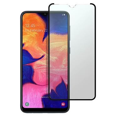 Avizar Film verre trempé Noir pour Samsung Galaxy A10 , Samsung Galaxy M10 pas cher