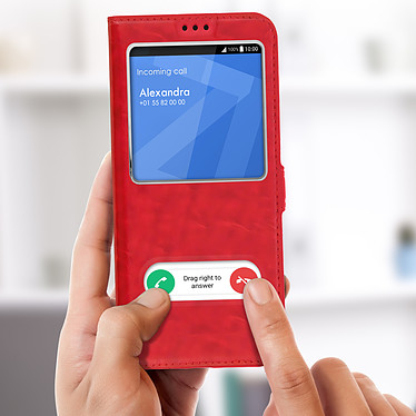 Avis Avizar Etui folio Rouge pour Sony Xperia 10 Plus