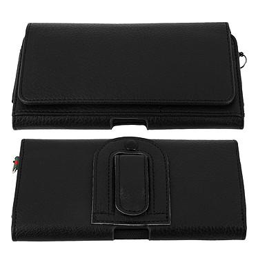 Avizar Etui ceinture Noir pour Smartphones jusqu'à 4.7' pas cher