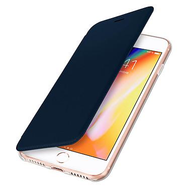 Avizar Etui folio Bleu Nuit pour Apple iPhone 7 , Apple iPhone 8 , Apple iPhone SE 2020 Etui folio Bleu Nuit Apple iPhone 7 , Apple iPhone 8 , Apple iPhone SE 2020