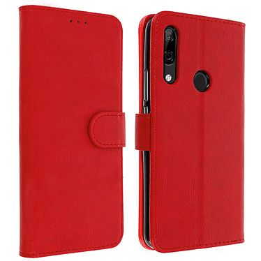 Avizar Etui folio Rouge pour Huawei P Smart Z , Honor 9X Etui folio Rouge Huawei P Smart Z , Honor 9X