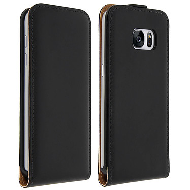 Avizar Etui à clapet Noir pour Samsung Galaxy S7 Etui à clapet Noir Samsung Galaxy S7