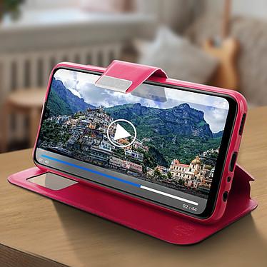 Avis Avizar Etui folio Rose pour Huawei P Smart 2019 , Honor 10 Lite