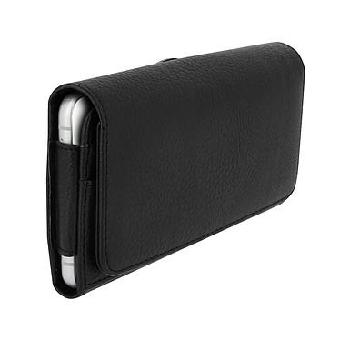 Avizar Etui ceinture Noir pour Smartphones jusqu'à 4.7' Etui ceinture Noir Smartphones jusqu'à 4.7'