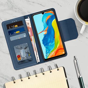 Acheter Avizar Etui folio Bleu Nuit pour Huawei P30 Lite , Honor 20S , Huawei P30 Lite XL