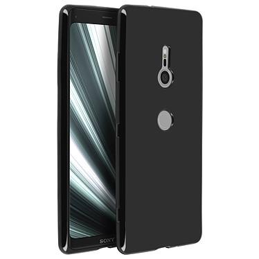 Avizar Coque Noir Vernis pour Sony Xperia XZ3 pas cher