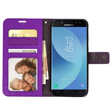 Acheter Avizar Etui folio Violet pour Samsung Galaxy J3 2017