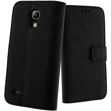 Avizar Etui folio Noir pour Samsung Galaxy S4 Mini Etui folio Noir Samsung Galaxy S4 Mini