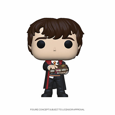 Harry Potter - Figurine POP! Neville w/Monster Book 9 cm Figurine POP! Harry Potter, modèle Neville w/Monster Book 9 cm.