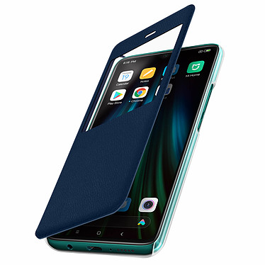 Avizar Etui folio Bleu Nuit pour Xiaomi Redmi Note 8 Pro pas cher
