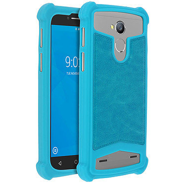 Avizar Coque Turquoise pour Smartphones de 5.0' à 5.3' Coque Turquoise Smartphones de 5.0' à 5.3'