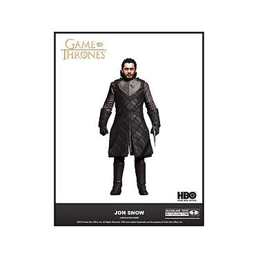 Game of Thrones - Figurine Jon Snow 18 cm Figurine Game of Thrones, modèle Jon Snow 18 cm.