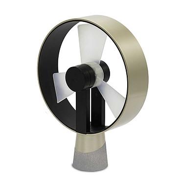 Air and me - Ventilateur de table AIRAIN Champagne - Champagne Bouton variateur de puissance en façade