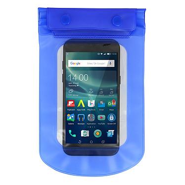 Avizar Housse étanche Bleu pour Smartphones de taille max : 167,6 x 88 mm pas cher