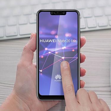 Acheter Avizar Film verre trempé Noir pour Huawei Mate 20 lite