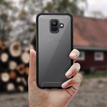 Acheter Avizar Coque Noir Bi-matières pour Samsung Galaxy A6