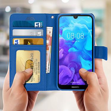 Acheter Avizar Etui folio Bleu pour Huawei Y5 2019 , Honor 8S