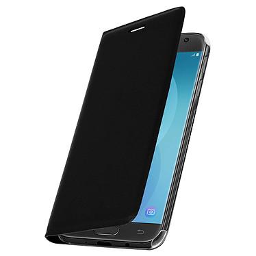 Avizar Etui folio Noir pour Samsung Galaxy J3 2017 Etui folio Noir Samsung Galaxy J3 2017