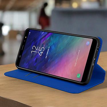Acheter Avizar Etui folio Bleu Nuit pour Samsung Galaxy A6 Plus