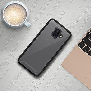 Avis Avizar Coque Noir Bi-matières pour Samsung Galaxy A6