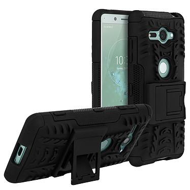 Avizar Coque Noir pour Sony Xperia XZ2 Compact Coque Noir Sony Xperia XZ2 Compact
