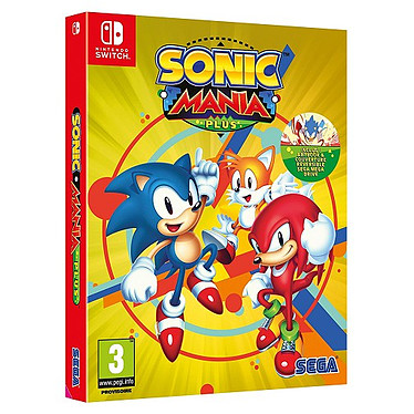 Sonic Mania Plus (SWITCH) Jeu SWITCH Action-Aventure 3 ans et plus