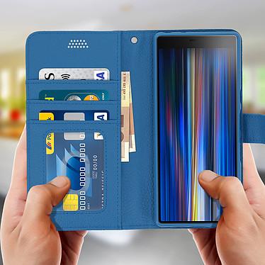 Acheter Avizar Etui folio Bleu pour Sony Xperia 10