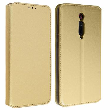 Avizar Etui folio Dorée pour Xiaomi Mi 9T , Xiaomi Mi 9T Pro Etui folio Dorée Xiaomi Mi 9T , Xiaomi Mi 9T Pro