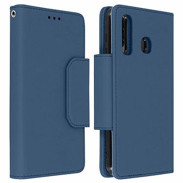 Avizar Etui folio Bleu Nuit pour Samsung Galaxy A50 , Samsung Galaxy A30s Etui folio Bleu Nuit Samsung Galaxy A50 , Samsung Galaxy A30s