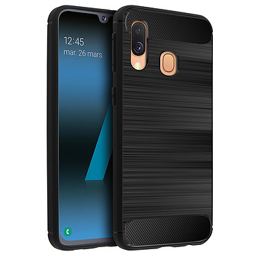 Avizar Coque Noir pour Samsung Galaxy A40 pas cher