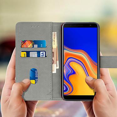 Acheter Avizar Etui folio Gris pour Samsung Galaxy J4 Plus