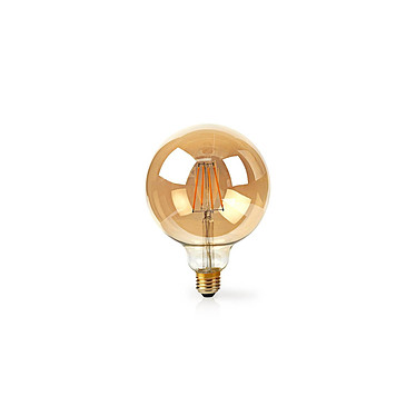 Nedis Ampoule connectée à Filament LED Wi-Fi G125 NEDIS