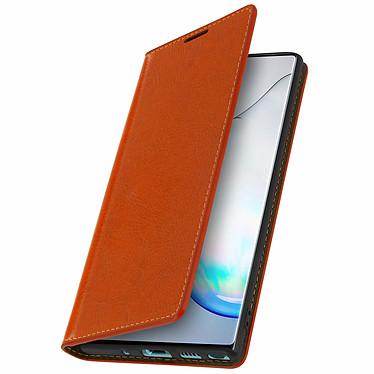 Avizar Etui folio Camel pour Samsung Galaxy Note 10 pas cher