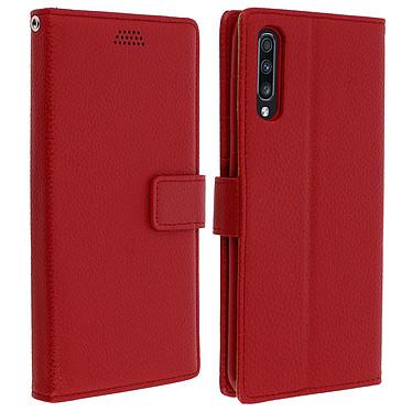 Avizar Etui folio Rouge pour Samsung Galaxy A70 Etui folio Rouge Samsung Galaxy A70