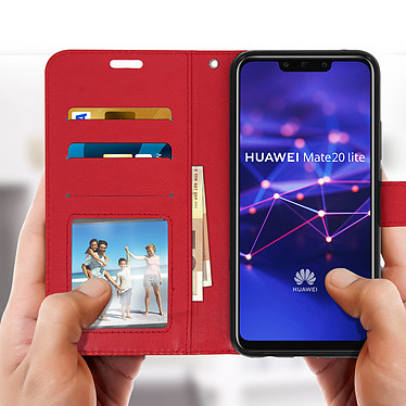 Acheter Avizar Etui folio Rouge pour Huawei Mate 20 lite