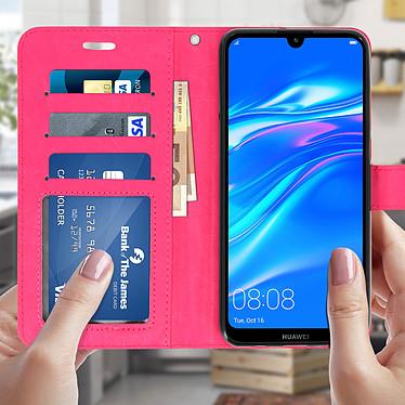 Acheter Avizar Etui folio Rose pour Huawei P30 Lite , Honor 20S , Huawei P30 Lite XL