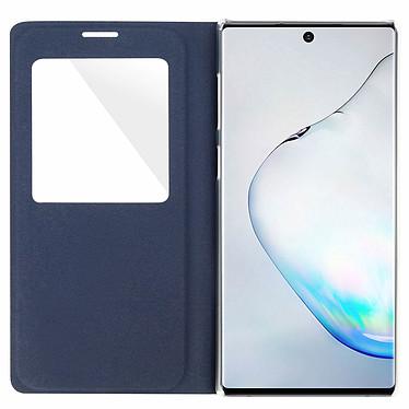 Avis Avizar Etui folio Bleu Nuit à fenêtre pour Samsung Galaxy Note 10