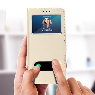 Acheter Avizar Etui folio Dorée pour Samsung Galaxy S10