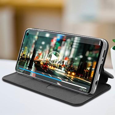 Avis Avizar Etui folio Noir Stand Vidéo pour Samsung Galaxy S10