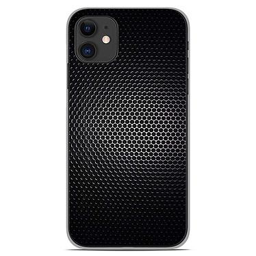 1001 Coques Coque silicone gel Apple iPhone 11 motif Dark Metal Coque silicone gel Apple iPhone 11 motif Dark Metal