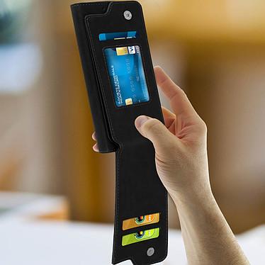 Avis Avizar Etui folio Noir pour Compatibles avec Smartphones de 5,3 à 5,5 pouces