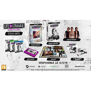 Avis Life is Strange Before the Storm Edition Limitee (XBOX ONE)