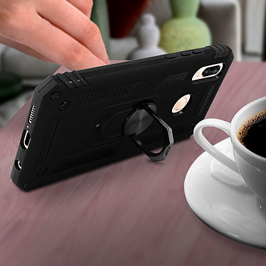 Avis Avizar Coque Noir Bi-Matières pour Huawei P20 Lite