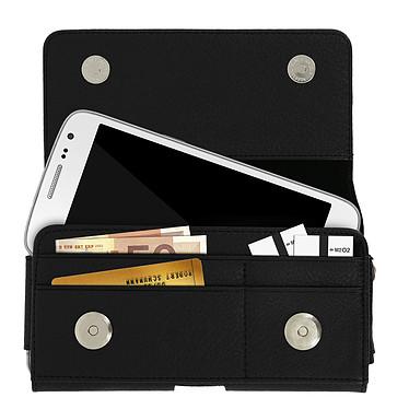 Avis Avizar Etui ceinture Noir pour Smartphones jusqu'à 4.7'