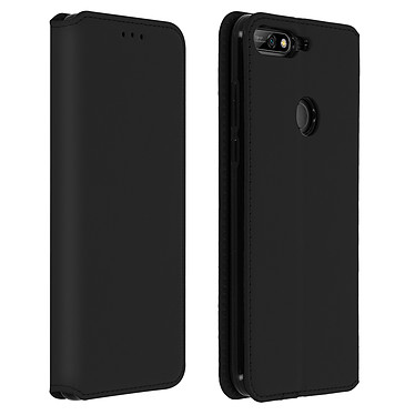 Avizar Etui folio Noir pour Honor 7C , Huawei Y7 2018 pas cher
