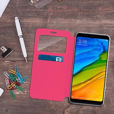 Acheter Avizar Etui folio Rose pour Xiaomi Redmi 5