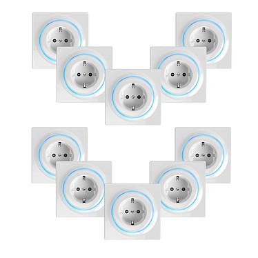 Fibaro Lot de 10 prises intelligentes encastrées Z-Wave+ - Walli Outlet Type F Lot de 10 prises intelligentes encastrées Z-Wave+ - Walli Outlet Type F