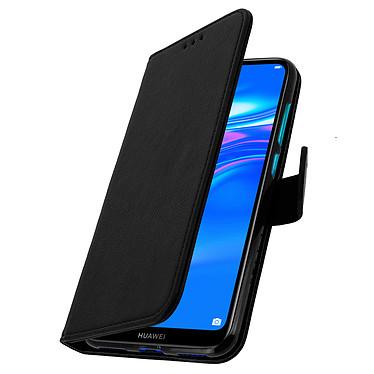 Avizar Etui folio Noir pour Huawei Y7 2019 pas cher