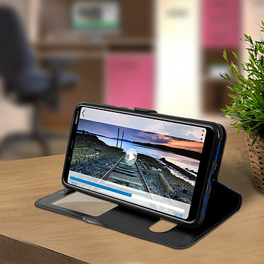 Acheter Avizar Etui folio Noir pour Nokia 3.1 Plus