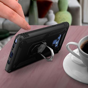Avis Avizar Coque Noir Bi-matières pour Samsung Galaxy Note 9